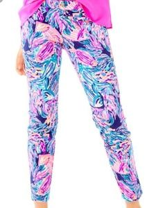 Lilly Pulitzer Kelly Ankle Pants Seas The Day 00